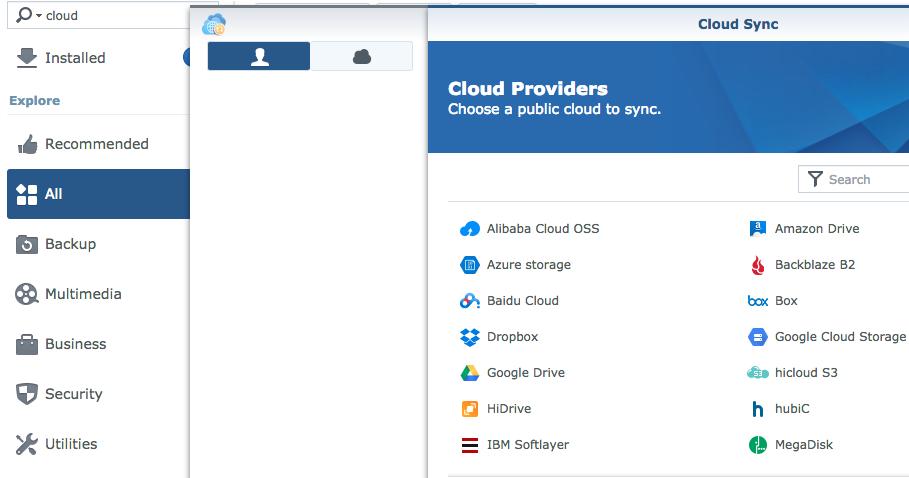 Synology Cloud Sync giúp bạn linh động hơn trong việc chọn nơi lưu trữ cho dữ liệu của mình với các bên thứ 3