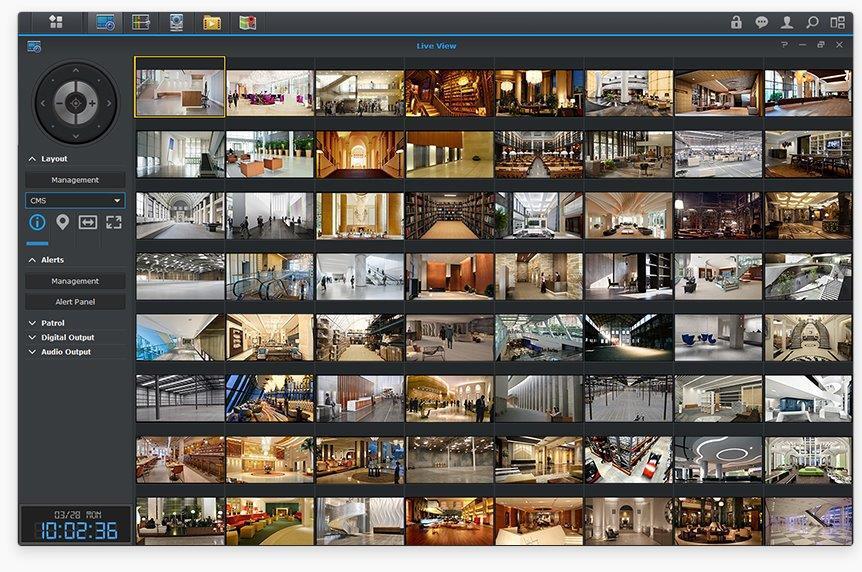 Tính năng CMS giúp bạn quản lý và truy xuất nhiều camera ở nhiều nơi tập trung tại một nơi duy nhất