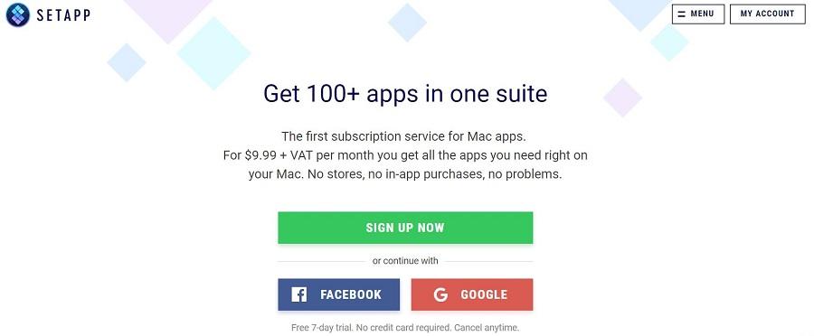 Setapp cung cấp cho bạn hơn 100 ứng dụng có tính phí rất hữu ích dành cho hệ điều hành macOS