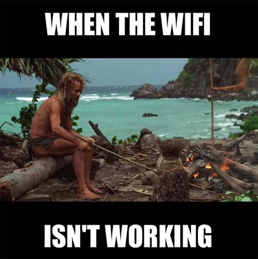 Bạn sẽ làm gì khi wifi không hoạt động?