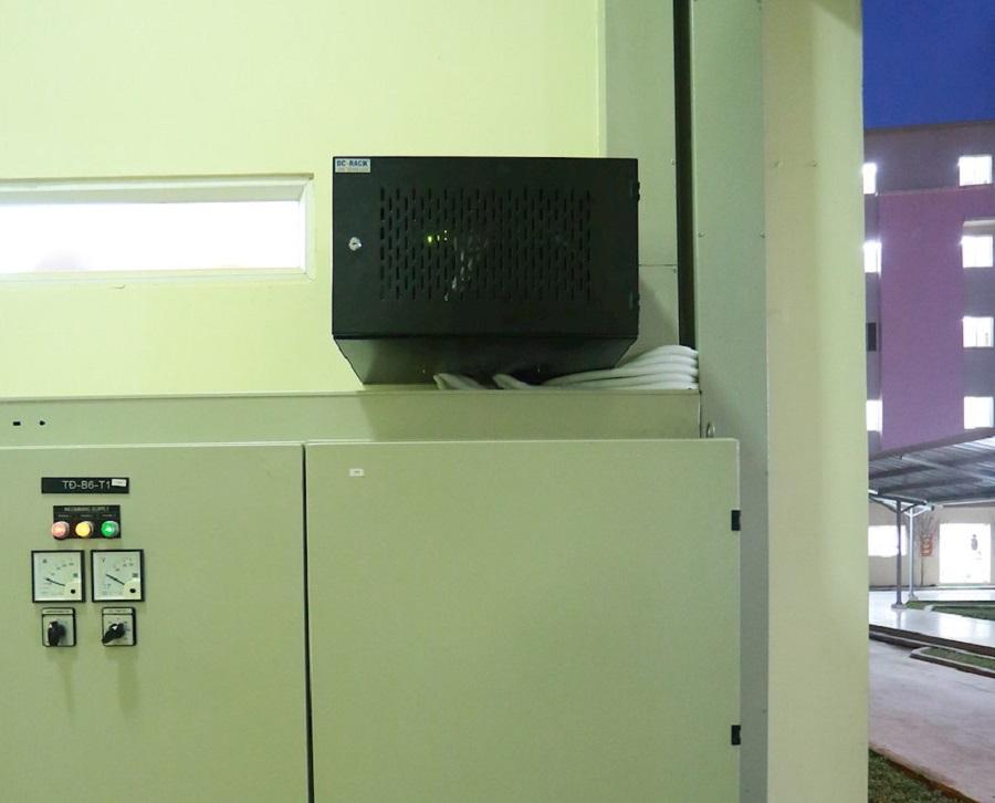 Chất lượng và thẩm mỹ luôn song hành khi MNS triển khai hệ thống. Hình ảnh của MNS