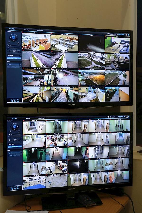 MNS sử dụng thiết bị xuất hình chuyên dụng VS240HD xuất khung hình full hd ra TV