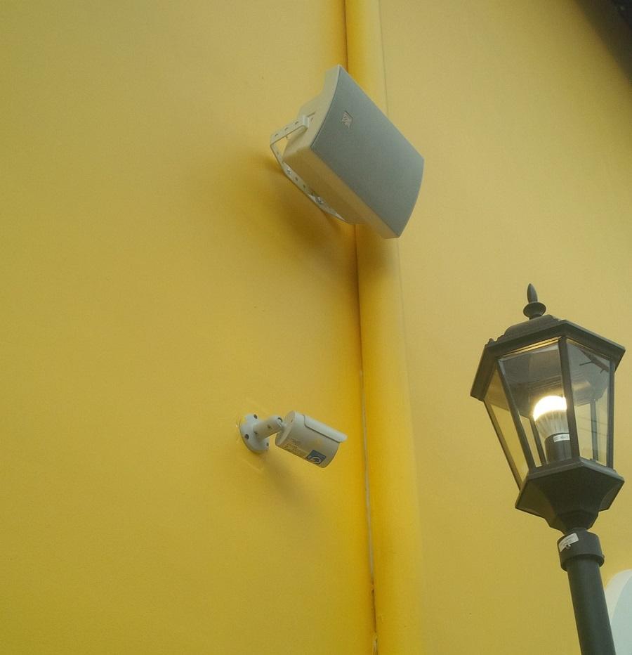 Lắp đặt an toàn và thẩm mỹ, dây tín hiệu được dấu vào trong