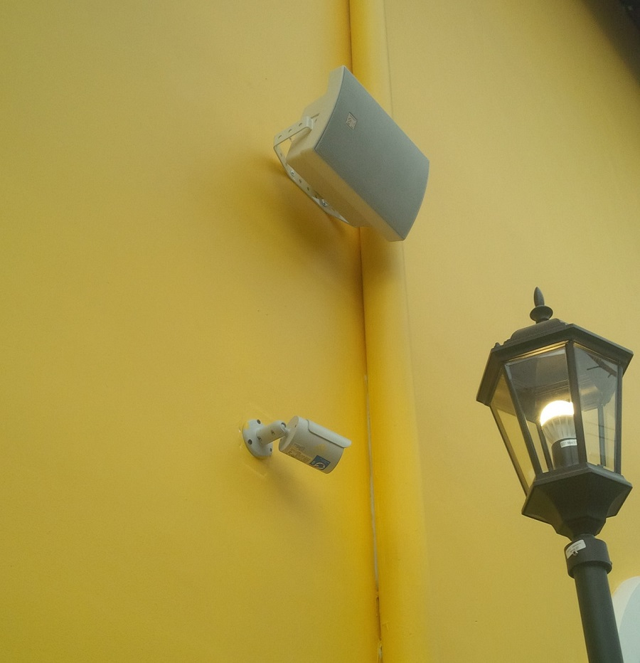 hệ thống camera cho nhà hàng stellar