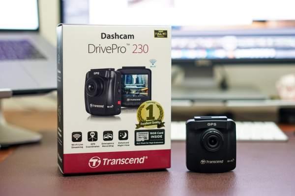 Camera hành trình chất lượng cao Transcend DP230