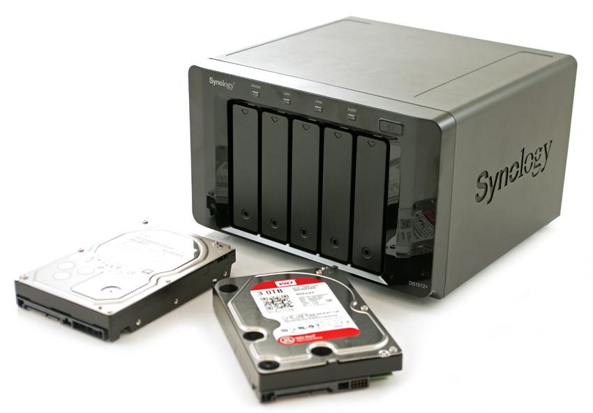 Thiết bị lưu trữ dữ liệu Synology dành cho photographers