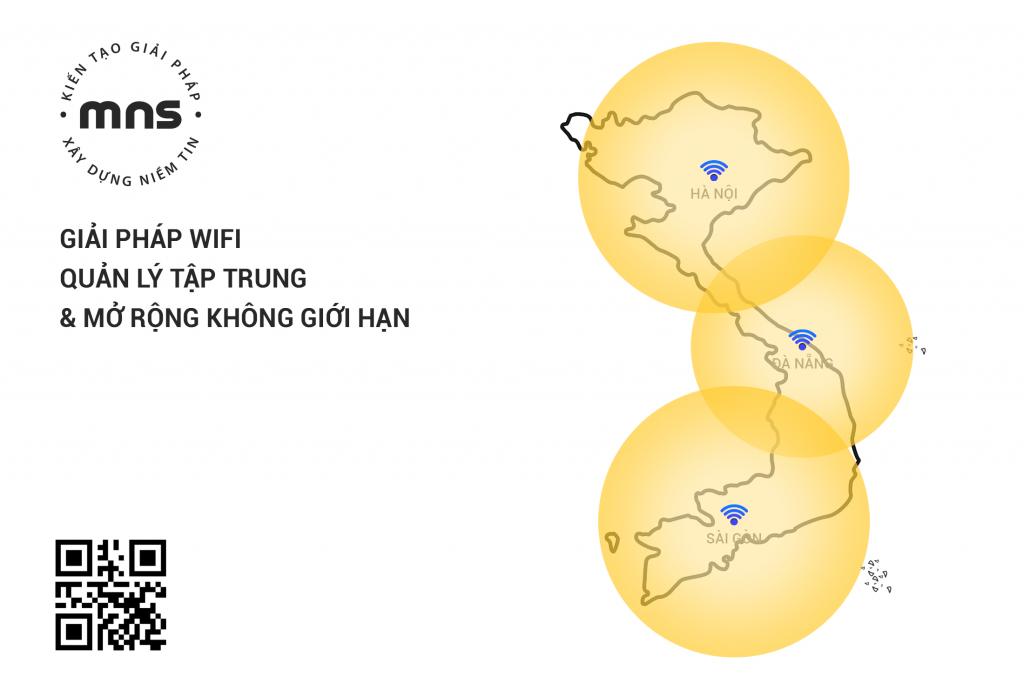 """Bạn có biết """"Giải pháp Wifi Con Ong"""" quản lý tập trung và có khả năng mở rộng không giới hạn"""