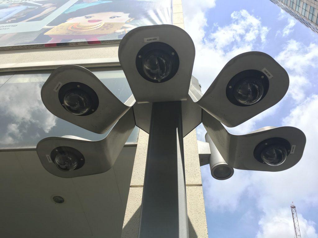 Sử dụng nhiều camera góc rộng có độ phân giải cao để tối ưu nhu cầu quan sát tổng quan.