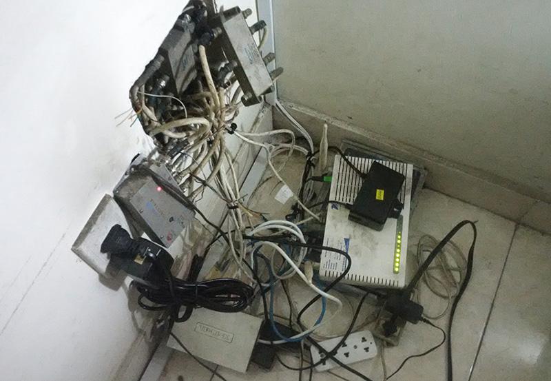 Hệ thống mạng lộn xộn khó bảo trì