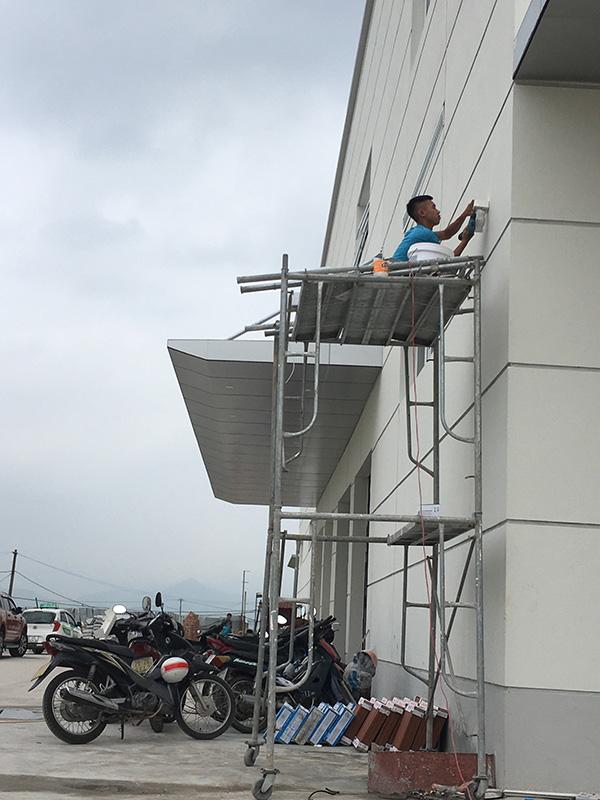 MNS lắp đặt hệ thống camera an ninh cho Fedex tại Hà Nội.