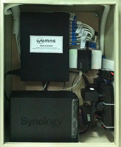 Hệ thống tủ kỹ thuật do MNS lắp đặt
