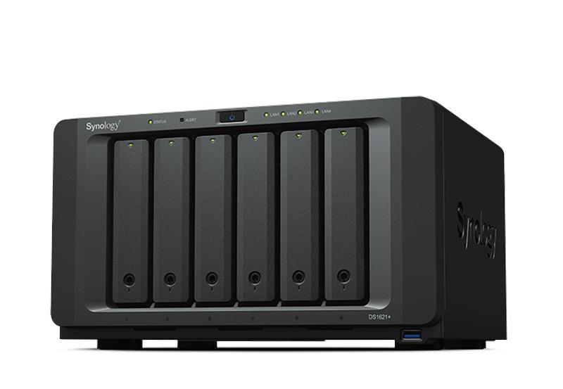 Synology DS1621+ | Thiết bị lưu trữ dữ liệu an toàn cho cá nhân và doanh nghiệp