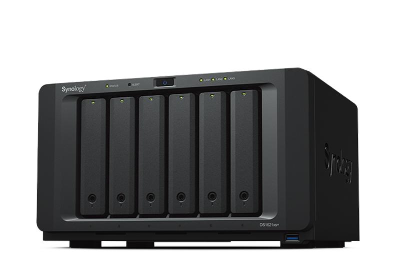 Synology DS1621xs+ | Thiết bị lưu trữ dữ liệu an toàn cho cá nhân và doanh nghiệp
