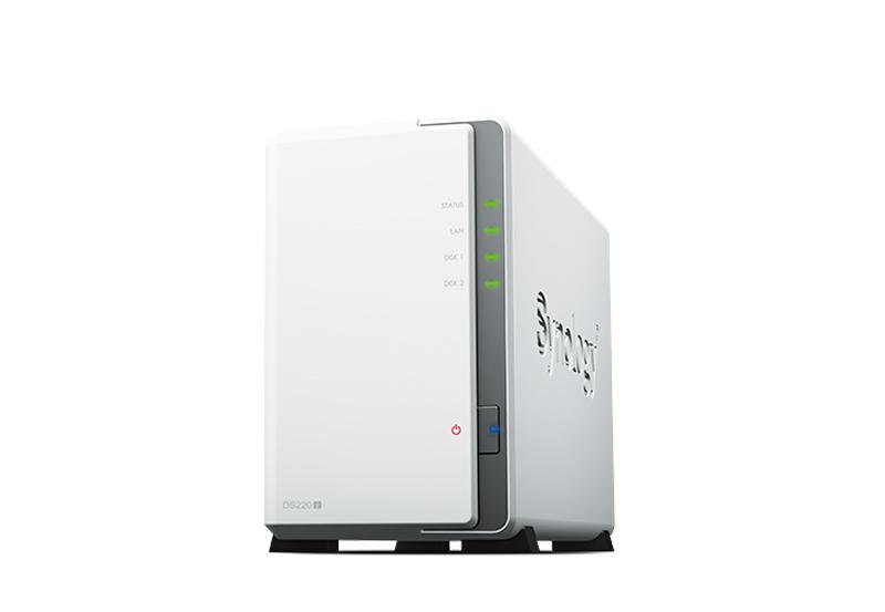 Synology DS220j | Thiết bị lưu trữ dữ liệu an toàn cho cá nhân và doanh nghiệp Synology DS220j