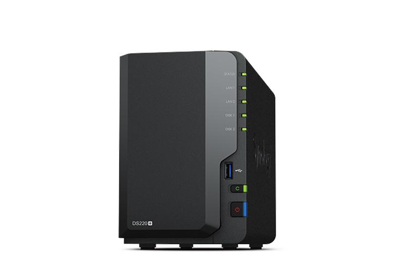 Synology DS220+ | Thiết bị lưu trữ dữ liệu an toàn cho cá nhân và doanh nghiệp