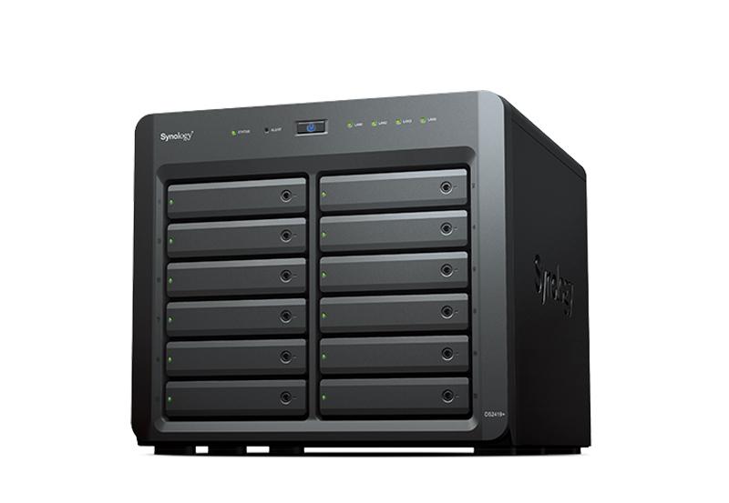 Synology DS2419+ | Thiết bị lưu trữ dữ liệu an toàn cho cá nhân và doanh nghiệp