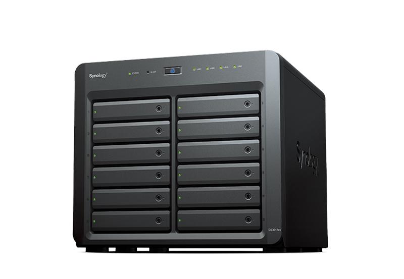 Synology DS3617xs | Thiết bị lưu trữ dữ liệu an toàn cho cá nhân và doanh nghiệp