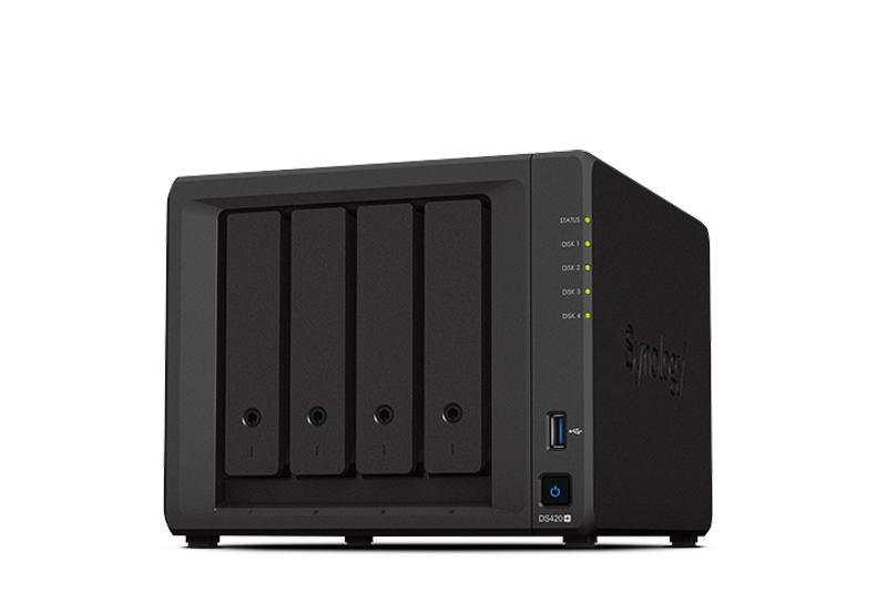 Synology DS420+ | Thiết bị lưu trữ dữ liệu an toàn cho cá nhân và doanh nghiệp