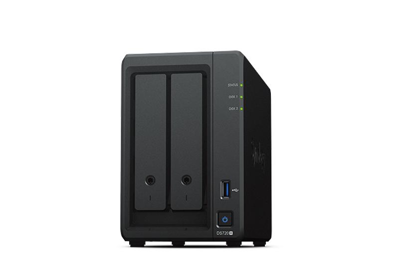 Synology DS720+ | Thiết bị lưu trữ dữ liệu an toàn cho cá nhân và doanh nghiệp