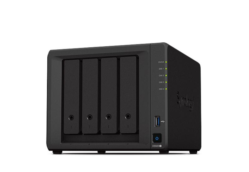 Synology DS920+ | Thiết bị lưu trữ dữ liệu an toàn cho cá nhân và doanh nghiệp