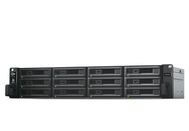 Synology RS3618xs | Thiết bị lưu trữ dữ liệu an toàn cho cá nhân và doanh nghiệp