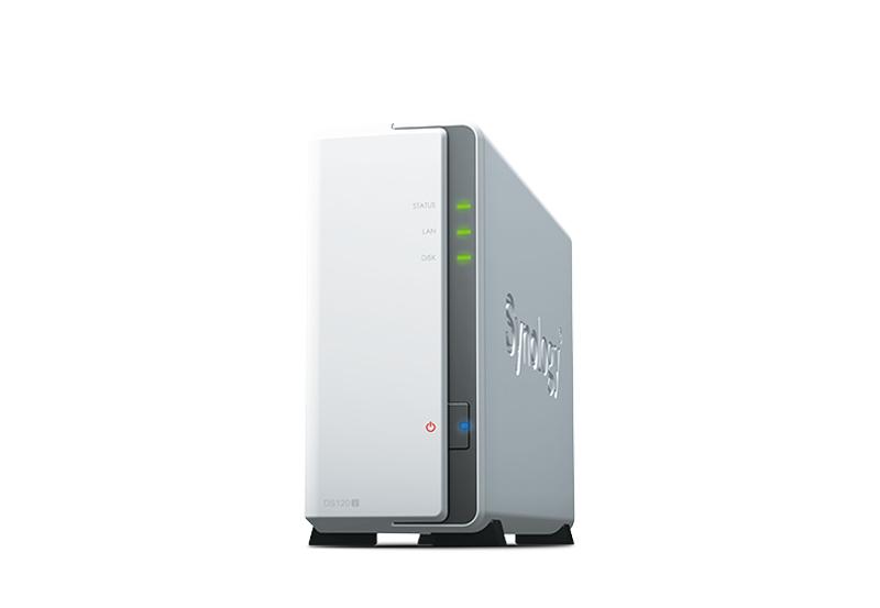 Synology DS120j | Thiết bị lưu trữ dữ liệu an toàn cho cá nhân và doanh nghiệp Synology DS120j