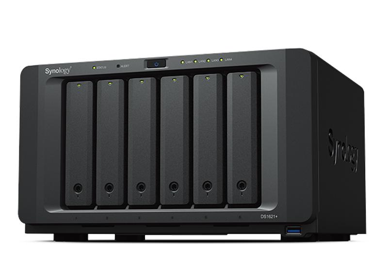 NAS Synology DS1621+   Thiết bị lưu trữ dữ liệu an toàn cho cá nhân và doanh nghiệp