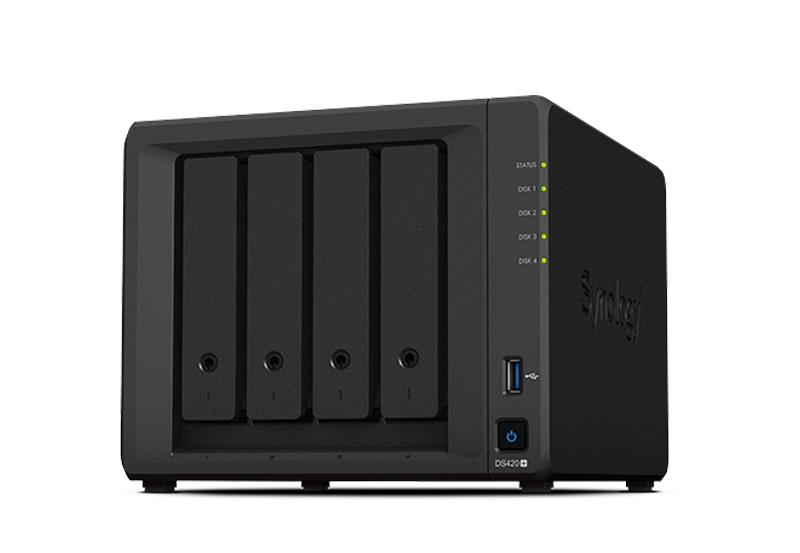 NAS Synology DS420+   Thiết bị lưu trữ dữ liệu an toàn cho cá nhân và doanh nghiệp
