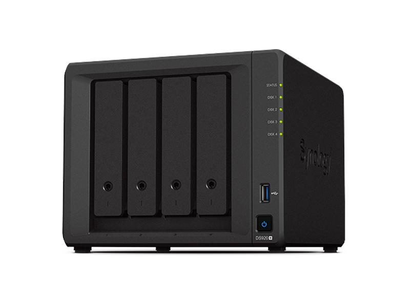 NAS Synology DS920+   Thiết bị lưu trữ dữ liệu an toàn cho cá nhân và doanh nghiệp