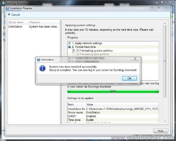 Đập hộp và test sản phẩm NAS server Synology DS211+ (Phần 2